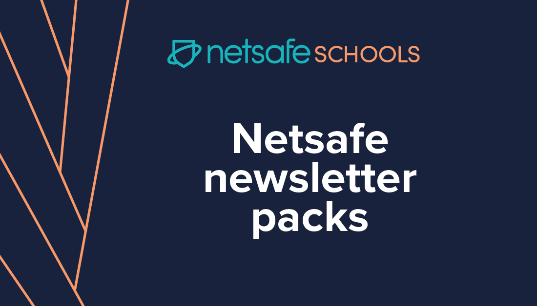 Check out our #NetsafeSchools newsletter packs. We provide everything you need to communicate online safety to your school community. Find them here https://t.co/Xbl2BNrEvY #edchatnz https://t.co/bHuiJW0Vbc