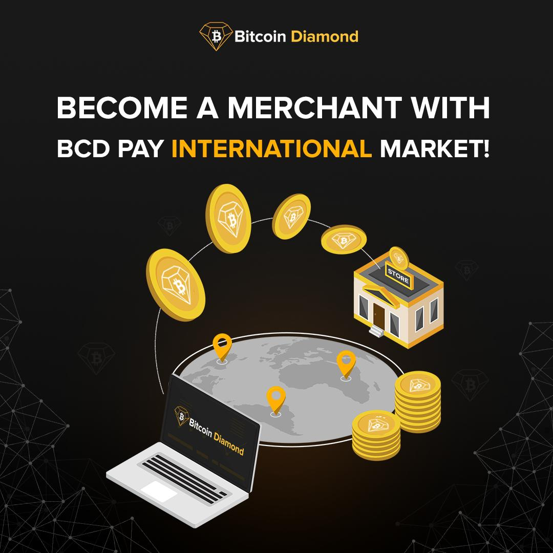 Opening your own e-commerce store? Offer your products to a global market without hassle of international payments and slow transaction fees. Become a merchant with BCD Pay International Market!