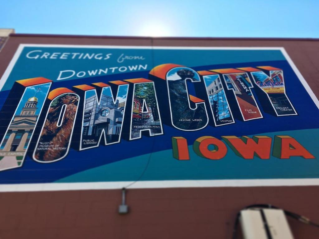 Two words. Eight letters. Another word for home. #IowaCity https://t.co/zJCpgoWddo