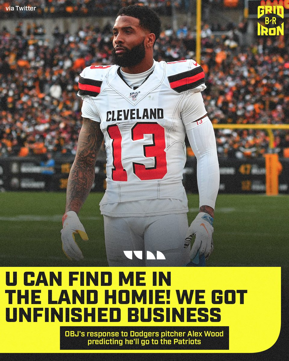 OBJs ready to run it back in Cleveland 😤