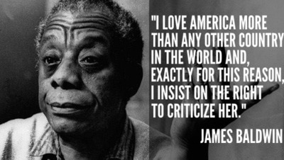 """""""I love America more than any other country in the world and, exactly for this reason, I insist on the right to criticize her perpetually."""" ― James Baldwin  #CineMon <br>http://pic.twitter.com/2fkNlRIqJr"""