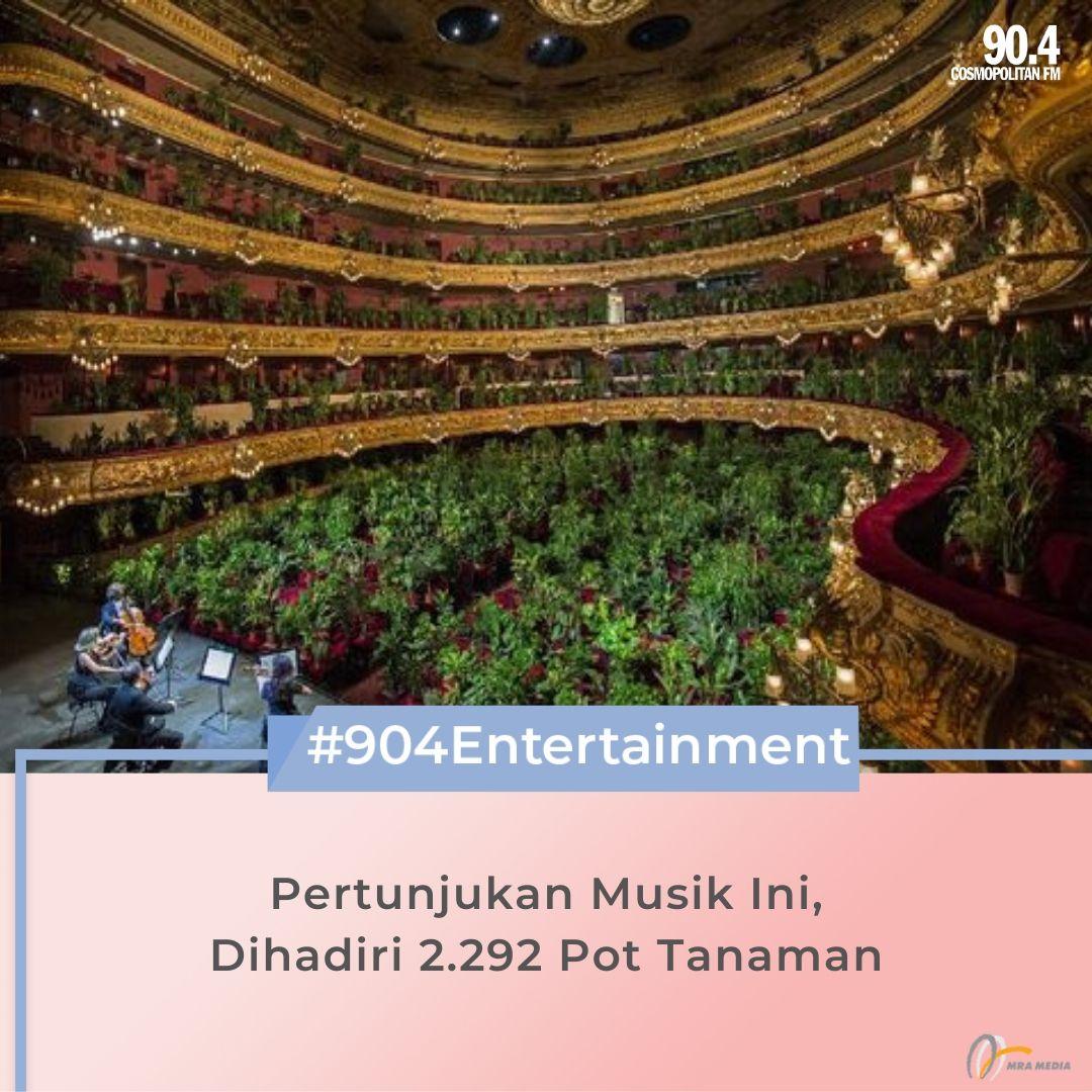 Teater legendaris di Barcelona, Gran Teatre del Liceu, kembali digelar setelah ditutup pada bulan Maret. Tapi, konser musik kali ini tak dihadiri oleh penonton, melainkan oleh pot tanaman berjumlah 2.292 buah. #SahabatPerempuan #TetapMRApat #KembaliKeStudio #RadioLawanCovid19 https://t.co/fJyFMMgq2B