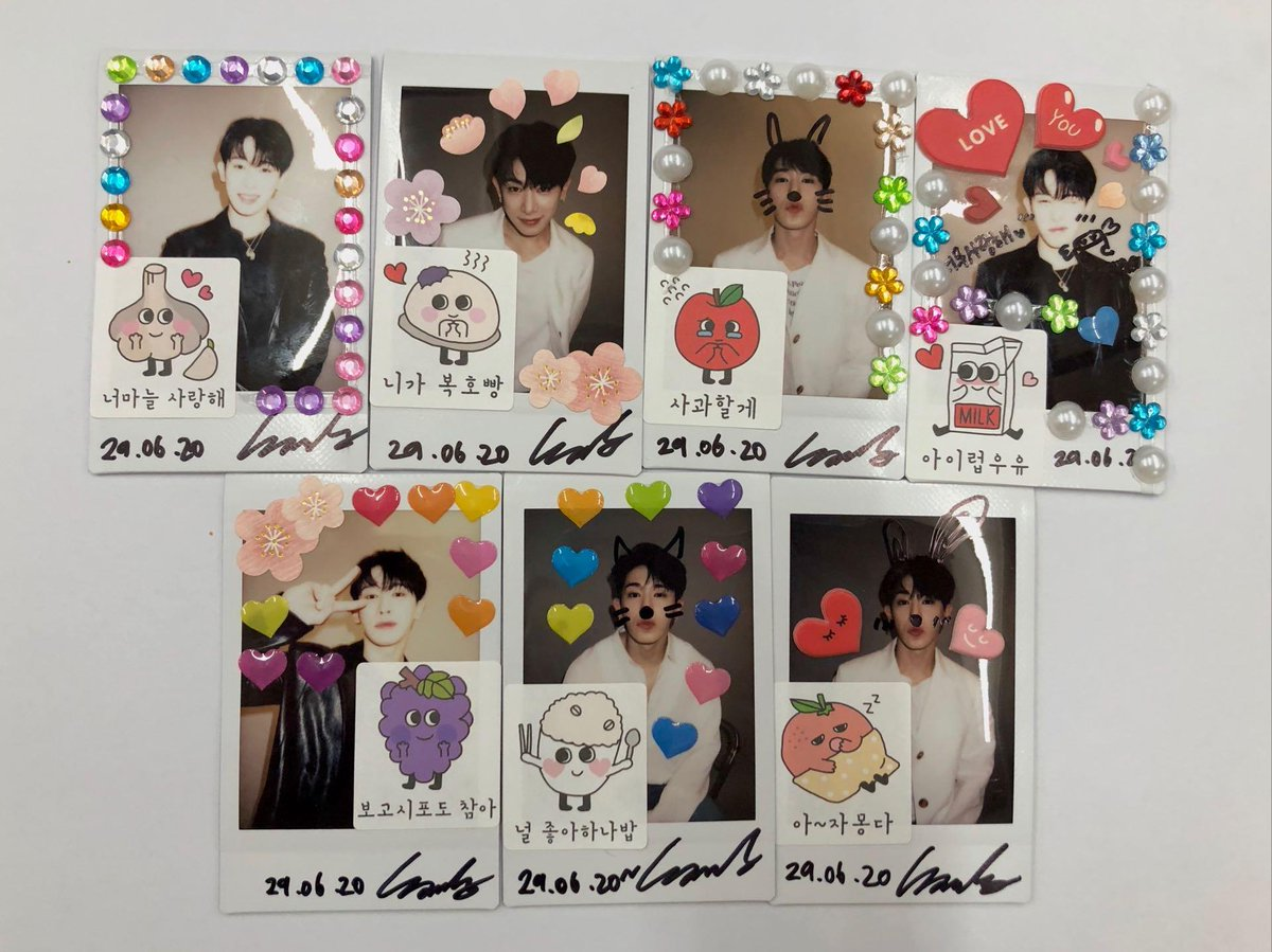 You can tell each and every single one of these was a labor of love from @official__wonho's hands  Every lucky person who receives one will be so blessed  #WeneeWithWonho pic.twitter.com/1vrxysrPOC