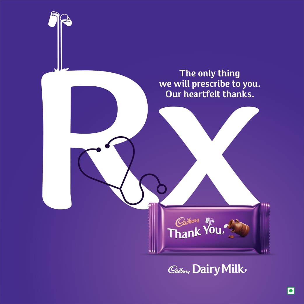 Our heartfelt thank you to every doctor out there fighting and caring for our lives, always putting duty first. #NationalDoctorsDay #SayThankYou #CadburyDairyMilk https://t.co/Pa4lCJ8L92