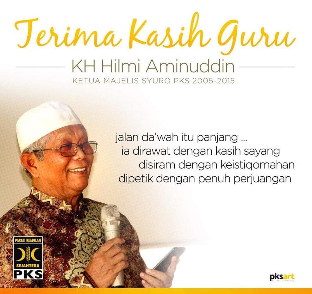 Hilmi Aminudin. (Foto: Twitter @ MardaniAliSera)