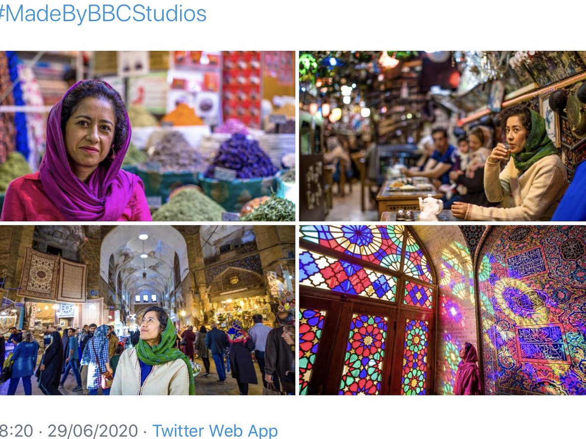 Thanks for all the kind words for #ArtOfPersia on @BBCFOUR. It's had amazing audience figures. If you missed.. catch up on the last episode and the whole series here.. https://t.co/KunDTDPk30 and more about the making of here: https://t.co/FtOrfmKF7W https://t.co/i5LrPmgWAz