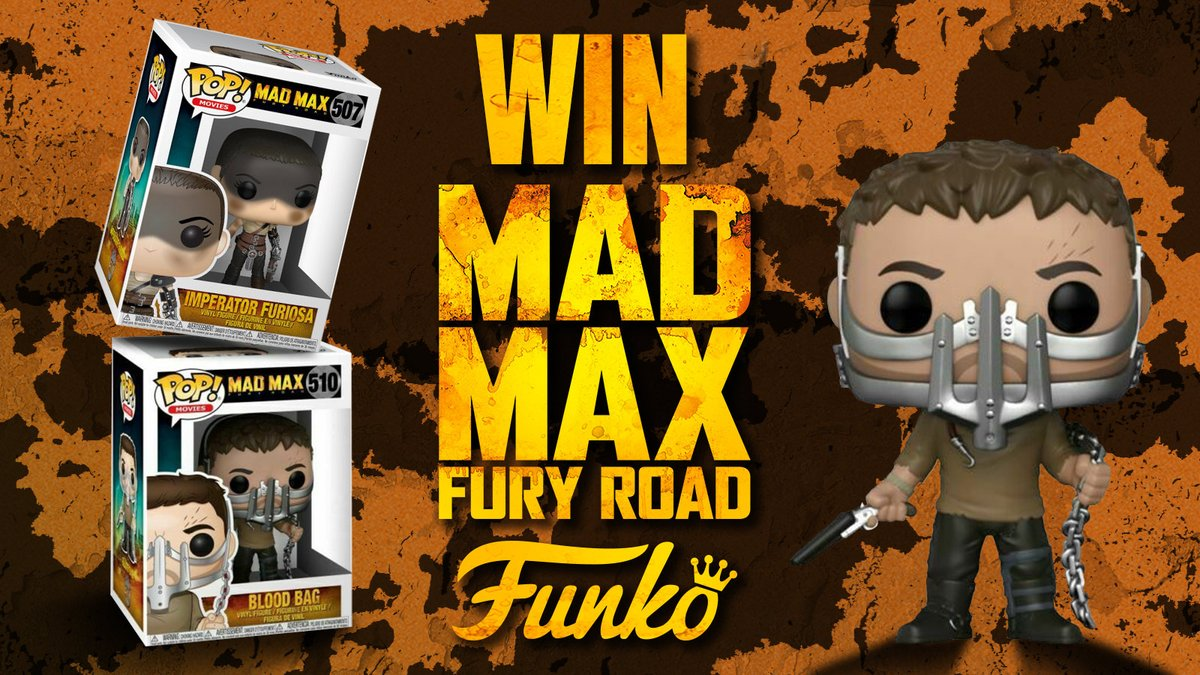 To celebrate the release of #MadMaxFuryRoad Titans of Cult Limited Edition Steelbook, RT & Follow to be in with the chance to #Win these Mad Max #Funkos  https://t.co/anGCHpyVwN  @titansofcult #titansofcult #steelbook https://t.co/Io217Smh59