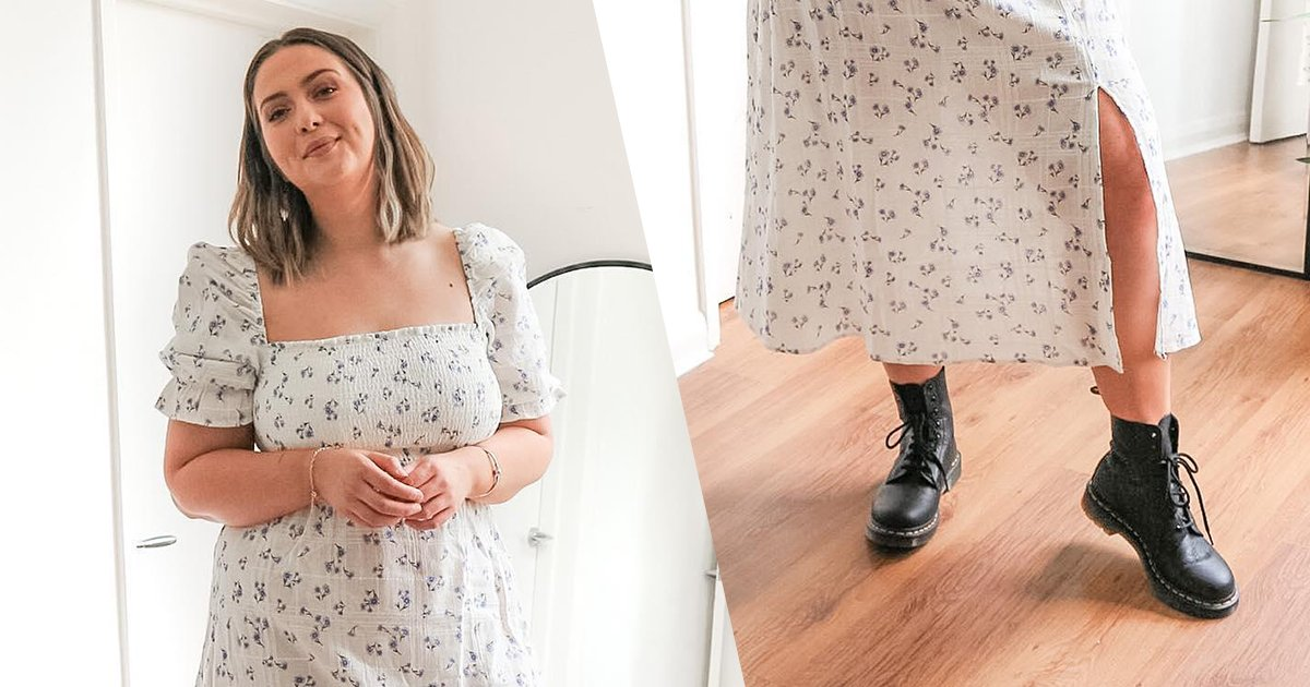 Floaty dresses an Dr. Martens boots is how to do summer styling 📸 IG: jesselleking https://t.co/9feer2SOOT
