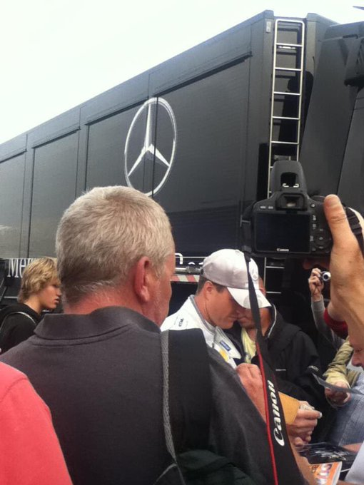 Happy 45th birthday to former and driver Ralf Schumacher. Taken in 2011 at Brands Hatch.
