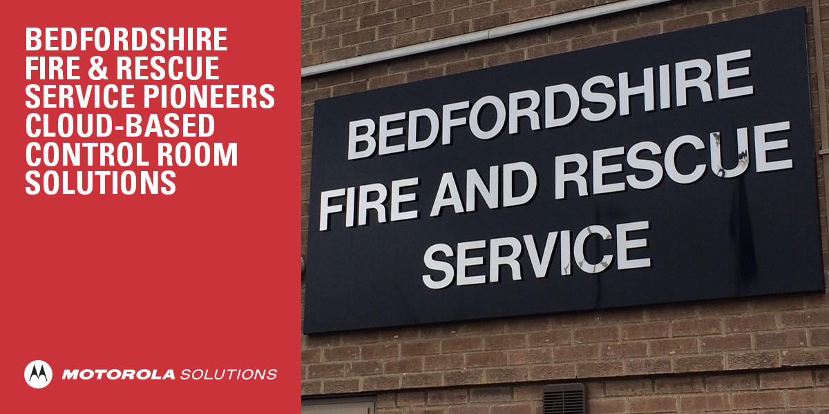 .@BedsFire is the first fire service in the UK to utilise our combined #cloud-based control room solution CommandCentral CRS, CommandCentral Vault and the integrated CAD solution, helping them manage their end-to-end workflow more effectively. Learn more: https://t.co/ipfAjHbyzX https://t.co/3wMMLh7PE3