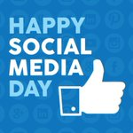 Image for the Tweet beginning: Today we celebrate Social Media