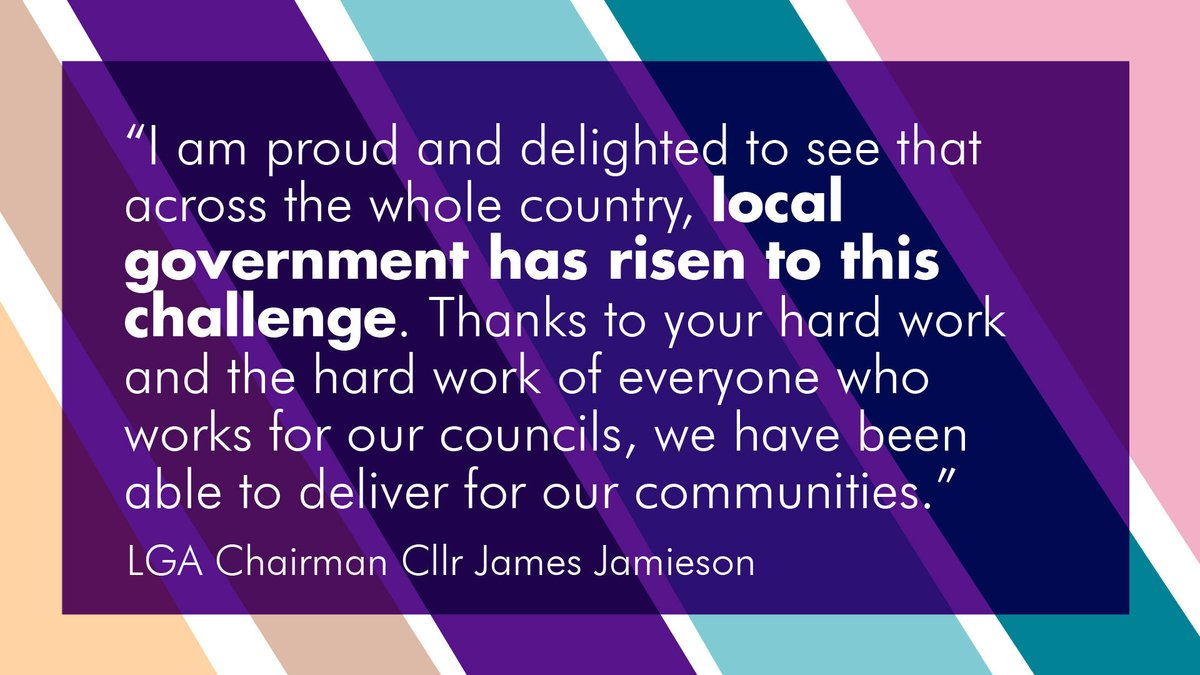 RT @LGAcomms Our Chairman @JGJamieson opens LGA Annual Conference 2020 with a message of thanks to councils for their response to the COVID-19 pandemic.   #LGAConf20 | #ReThinkingLocal