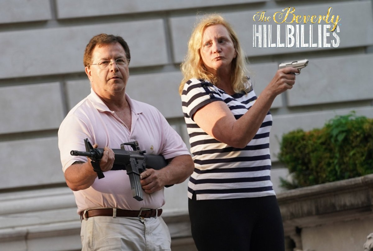Hollywood- CBS announces that filming has begun on the new Beverly Hillbillies remake. In the premier episode hilarious hijinks ensue when Jed and Granny react when they learn that their new neighbor, Milburn Drysdale, bank president, is a black man. #CalmAKarenDown <br>http://pic.twitter.com/rZQIypfKAF