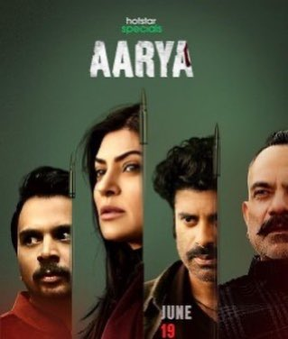 Just finished Binge watching ARYAA  on @Hotstarusa 👍 @thesushmitasen You LIGHT up the screen with your presence babe 😍🌈⭐️ You bought so much GRACE and CLASS to your performance.  I absolutely LOVED watching you and I'm so glad ur BACK with a BANG ❤️❤️ https://t.co/6AqfrV6ciV