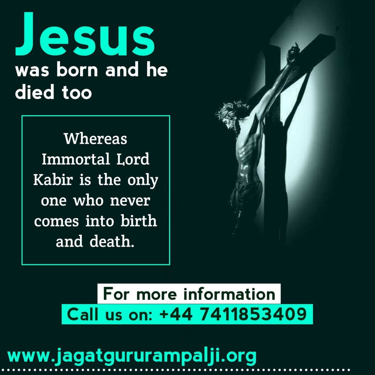 #TuesdayThoughts  Jesus said he was son of God. All holy scriptures prove that Supreme God Kabir is the father of all souls. He is the creator of all. <br>http://pic.twitter.com/pLbZKrEsNV