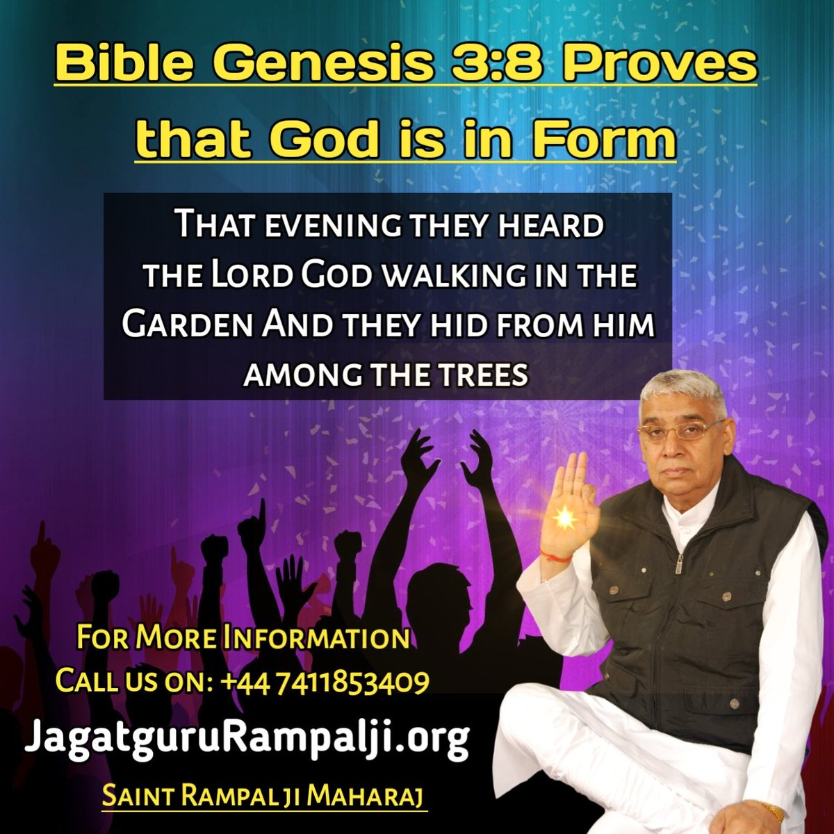 """#TuesdayThoughts  Supreme God Kabir is immortal. He doesn't die. He lives in His Eternal place """"Satlok"""", where there is no death, old age or misery. <br>http://pic.twitter.com/kRfUcSALw3"""