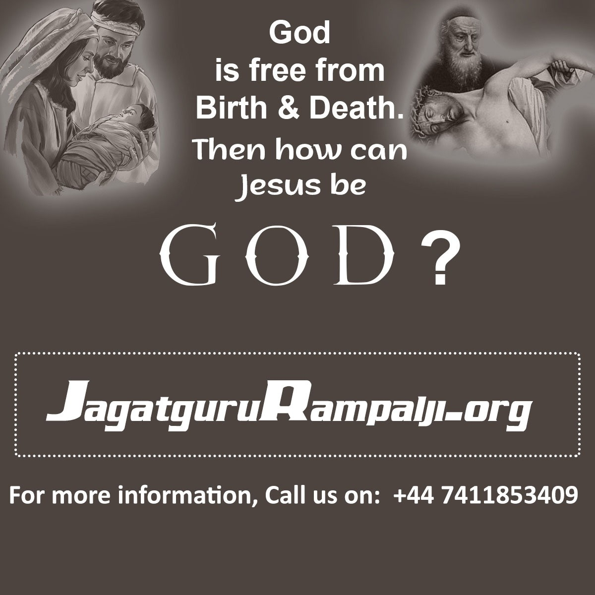 #TuesdayThoughts  Supreme God Kabir is the only God who is free from the painful cycle of birth and death. The one who dies cannot be called the eternal God. <br>http://pic.twitter.com/rOa70a9KMp