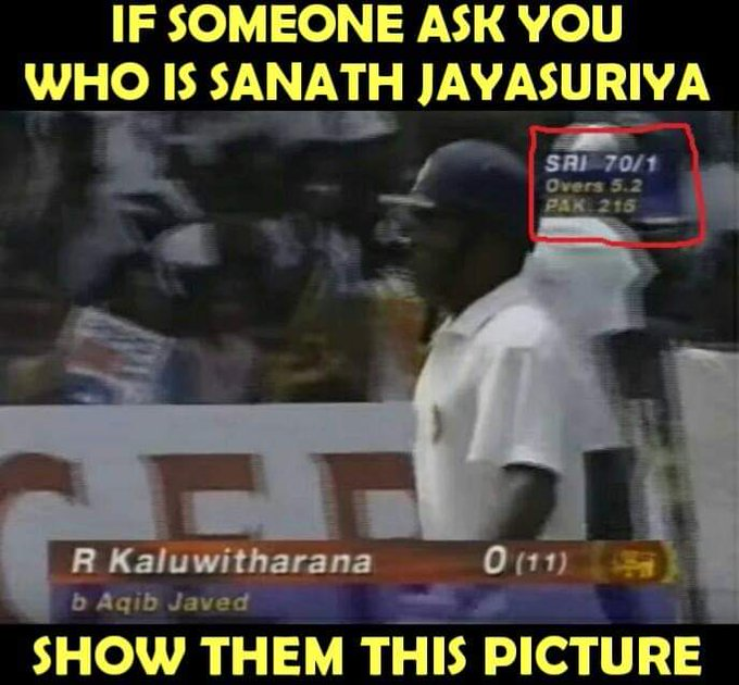 Happy Birthday to one of the greats of the game and a true legend - Sanath Jayasuriya