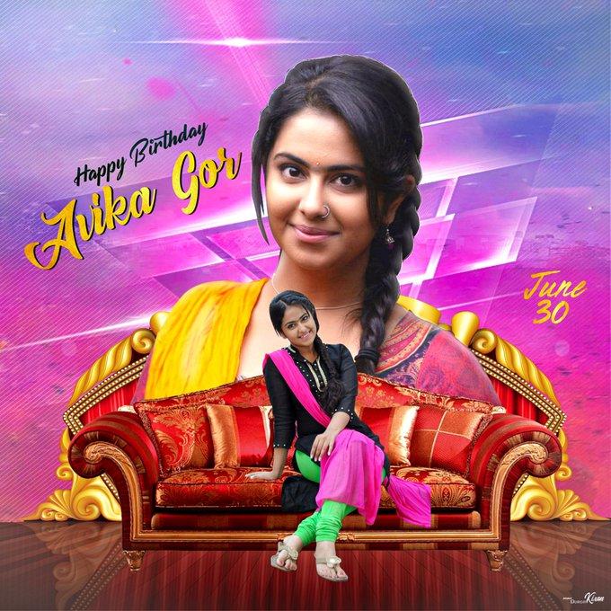 Happy Birthday Avika Gor   God bless you