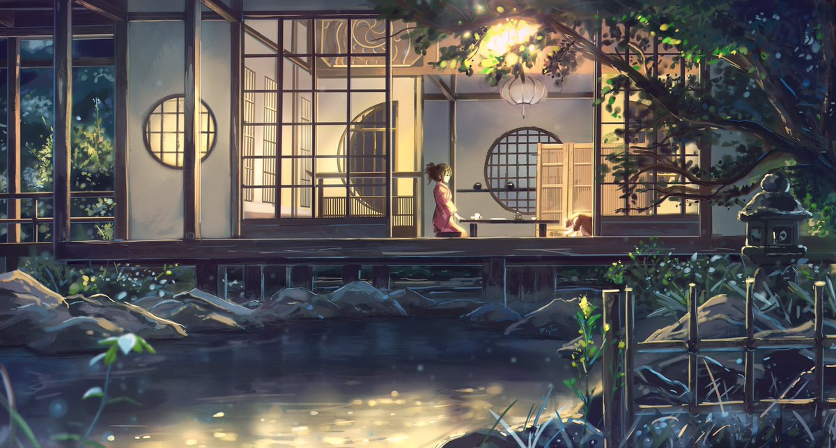 Oh men finally made it  Study accomplished!!! ,and I think I boost a lot my landscapes skills with this one This one was based on a scene of #KiminoNawa film of Makoto Shinkai  I'm currently studying that style to see what I can add to my own   #anime #illustration #studypic.twitter.com/BcmwJo8KoP