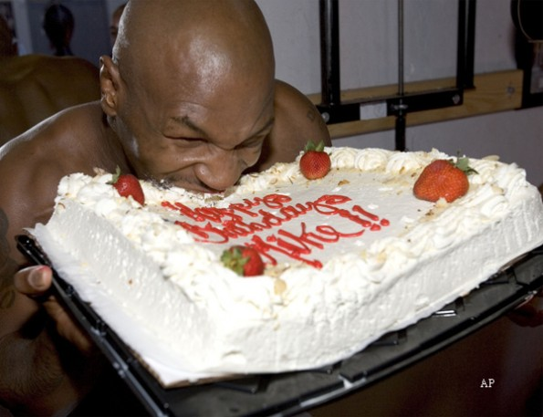 Happy birthday Mike Tyson, 54 years young and still the scariest man on the planet.