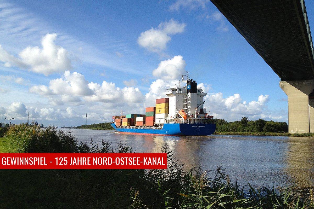 Zum 125-jährigen Bestehen des Nord-Ostsee-Kanals haben wir ein Gewinnspiel für Euch! Einfach das Quiz richtig beantworten und Ihr landet im Lostopf! Viel Glück   Das Quiz findet Ihr ganz unten auf der Seite: https://www.hafen-hamburg.de/de/nokpic.twitter.com/IKVLvO5wrM  by Hafen Hamburg