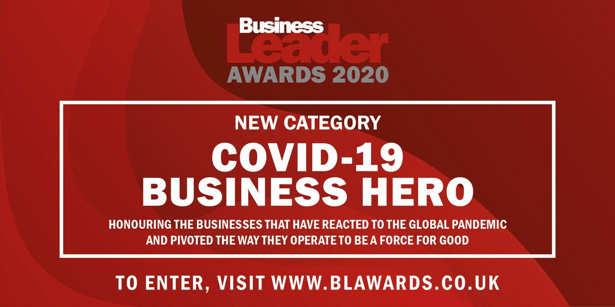 How has your business adapted to Covid-19? The @BLeaderNews awards are celebrating businesses who have achieved great things with their special category for 2020 https://t.co/K6kYoSPSTZ https://t.co/ZqZHaRuHJ8