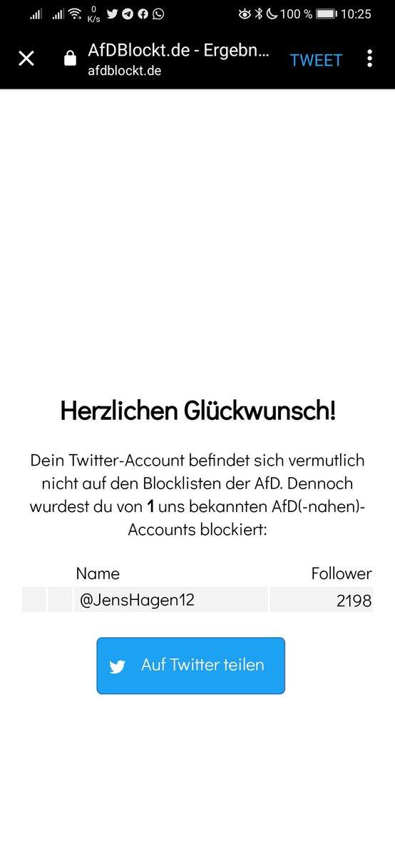 AfD-Accounts auf Twitter