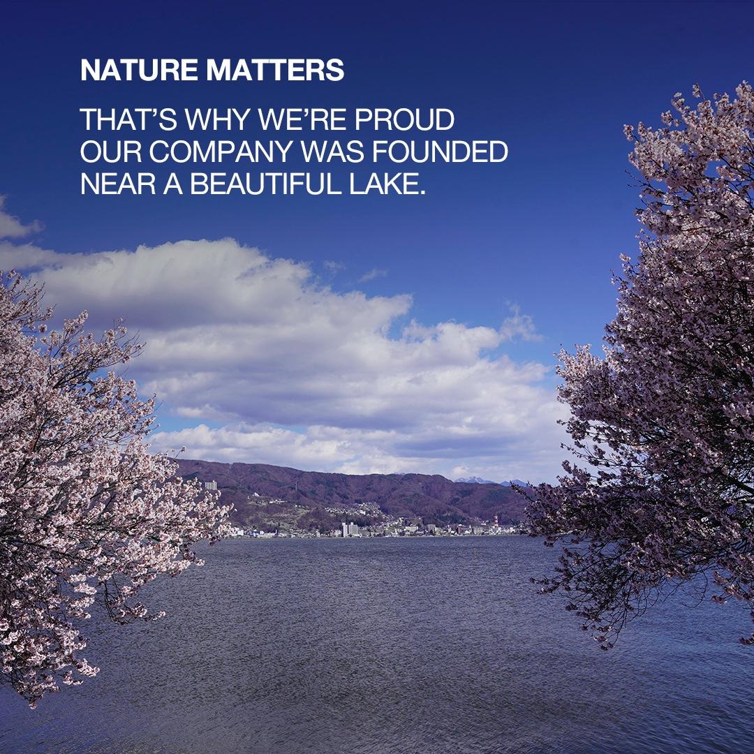 Con un headquarter situato in un bellissimo ambiente naturale, non sorprende che la natura sia importante per Epson. #nature #environment https://t.co/UliV7j8fyz