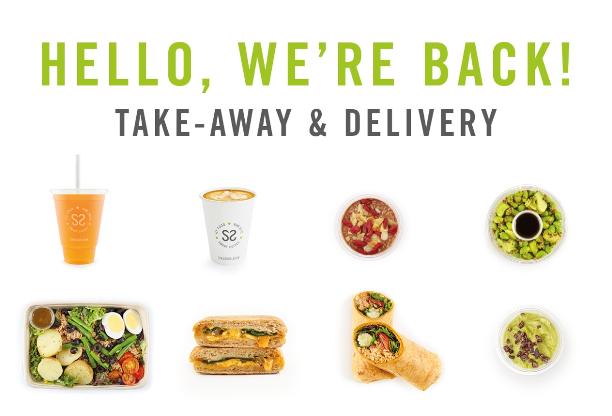 Now open in One Canada Square #CanaryWharf, @CrusshJuiceBars are back for takeaway, delivery and click & collect - Mon-Fri 7.30am-4.30pm, Sat & Sun 8am-4pm https://t.co/BjBWaIFIBo https://t.co/Qz3195RiN1