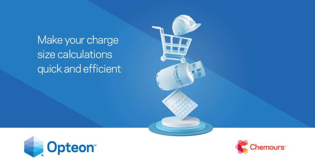 As the world demands more, refrigeration solutions are trying to balance safety, performance, and sustainability. With EMEA's Opteon™ XL Charge Size Calculator, make your charge size calculations quick and efficient. https://t.co/zLxw4CE9Au https://t.co/9kFZ5kMwIN