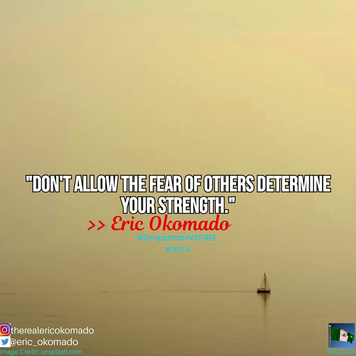 Protect your mind against the fears of others. Project yourself with faith and sail in the trajectory of success.  #DropsthatINSPIRE #BeINSPIREDtoday #fear #TuesdayMotivation #trajectory #success #voyage #faith #life #ThinkBIGSundayWithMarsha #lockdown #f4f #follow4followbackpic.twitter.com/8wv1nYJtrn