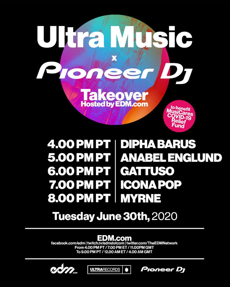 From the islands to the world!!! Gonna be DJing for @ultrarecords x @PioneerDJglobal x @TheEDMNetwork ! https://t.co/EBym3VGrZA