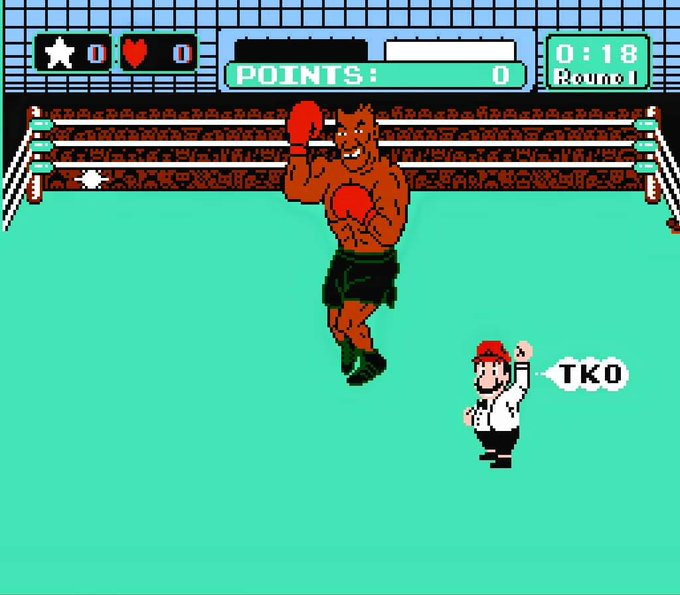 """Happy birthday to \""""Iron\"""" Mike Tyson.  I beat you once.  By decision."""