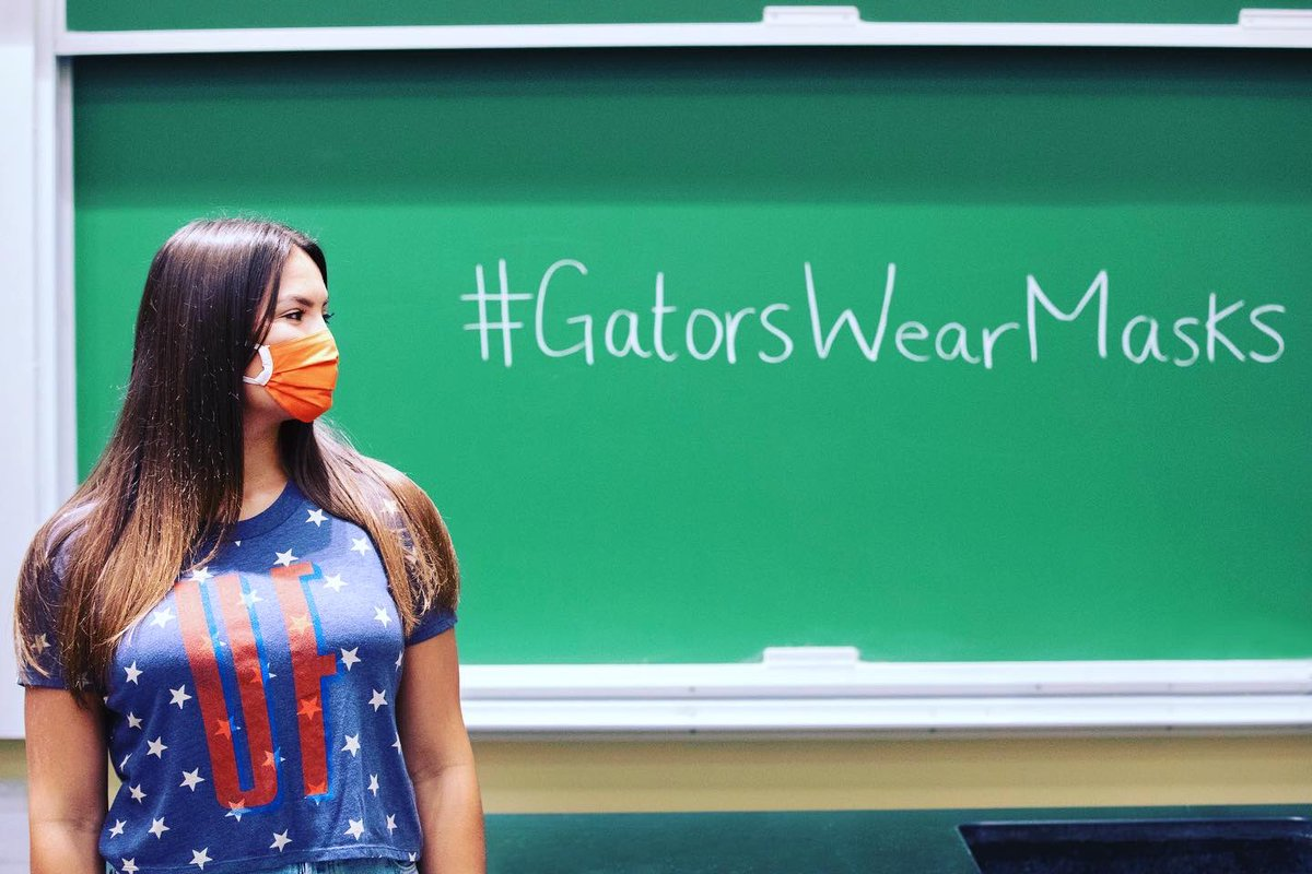 For the Gator Good. #GatorsWearMasks