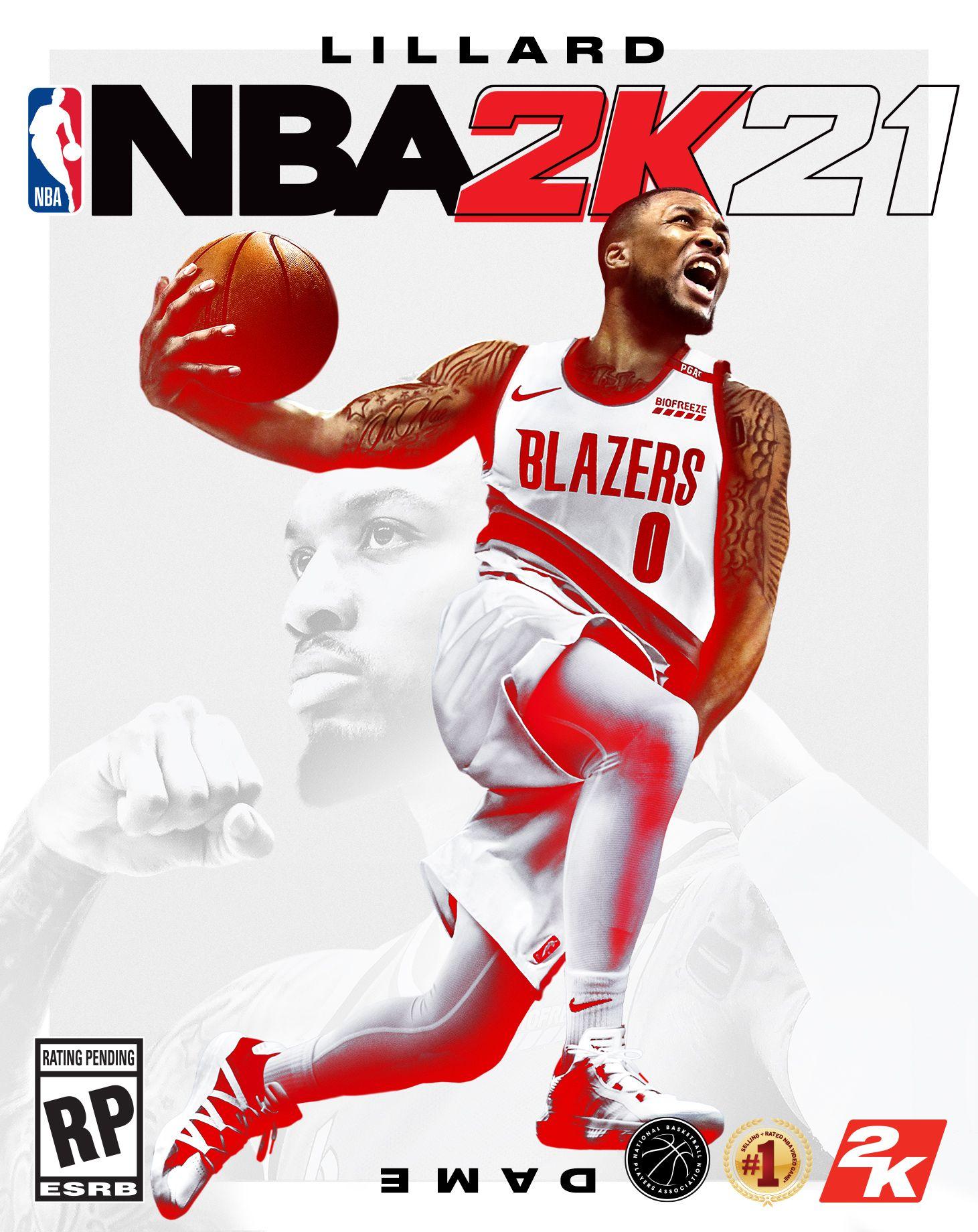 NBA 2K21 Reveals Damian Lillard As First Cover Star