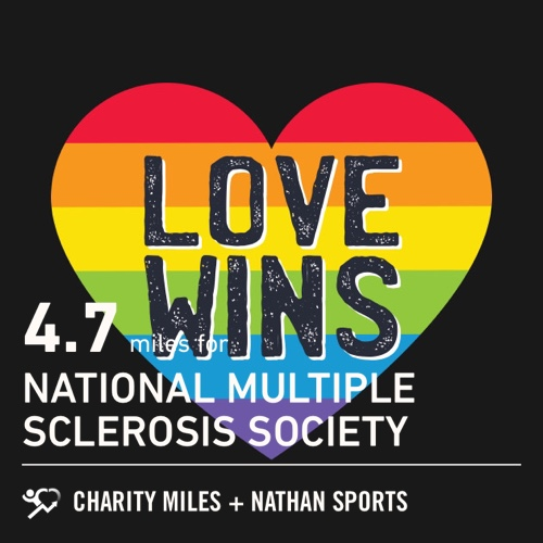 4.7 @CharityMiles for @mssociety. Thx @nathansports for sponsoring my miles for @mssociety #defeatms #lovewins #movewithpurpose<br>http://pic.twitter.com/Ad8ODR2NHm