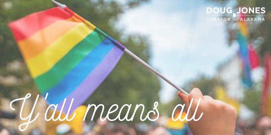 Even though #Pride looks different this year, we can still keep up the same fight for equality for all—regardless of who you are & who you love. Know that I'm here with you every step of the way.