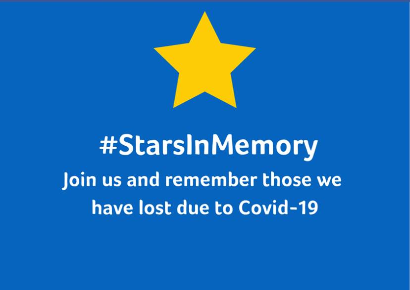 Today we are joining the #StarsInMemory campaign to remember those who have tragically lost their lives during the Covid-19 pandemic. Join us by making a star and placing it in your window or post on social media using the hashtag #StarsInMemory ⭐️⭐️⭐️