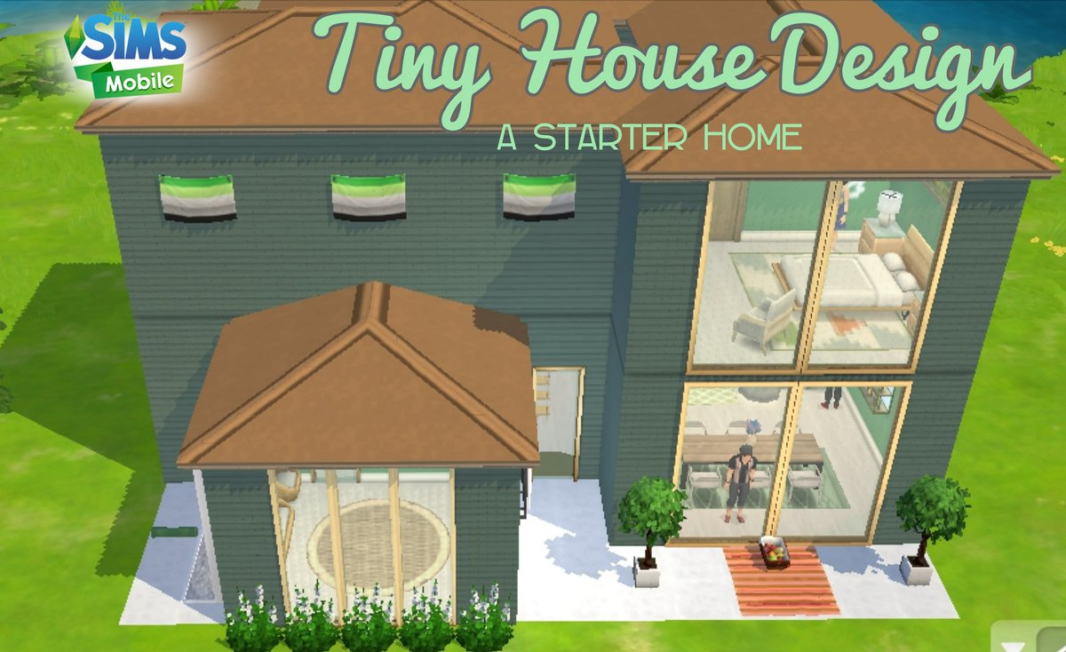 Jade Crystal On Twitter Hi Watch My New House Build Video In Youtube The Sims Mobile House Build 15x15 Tiny House Design Https T Co X9j9xq6fxk Thesimsmobile Tsmhousebuild Simsmobile Tinyhousedesign Https T Co 1mmfnkatal