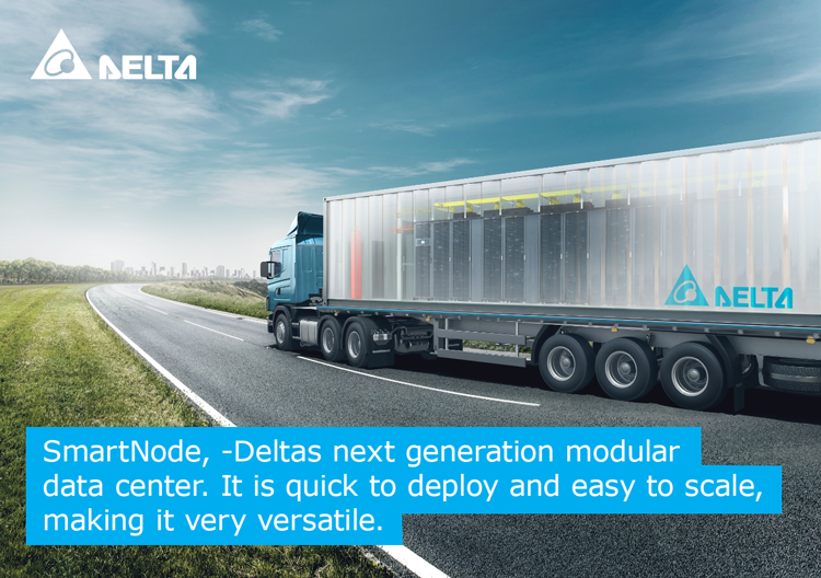 Today we proudly announce the launch of #SmartNode, a #newgeneration of #modularized #datacentre infrastructure solution, which offers #flexible #powersystem and cooling designsfor versatile implementation. delta-emea.com/Solutions/Cate…… #deltaemea #efficiency #containerized