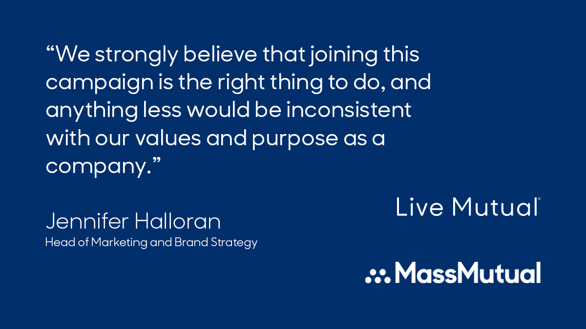 MassMutual is proud to stand with #StopHateForProfit and will be pausing all of our organic and paid Facebook and Instagram marketing for the month of July. https://t.co/YooJKLbFmp