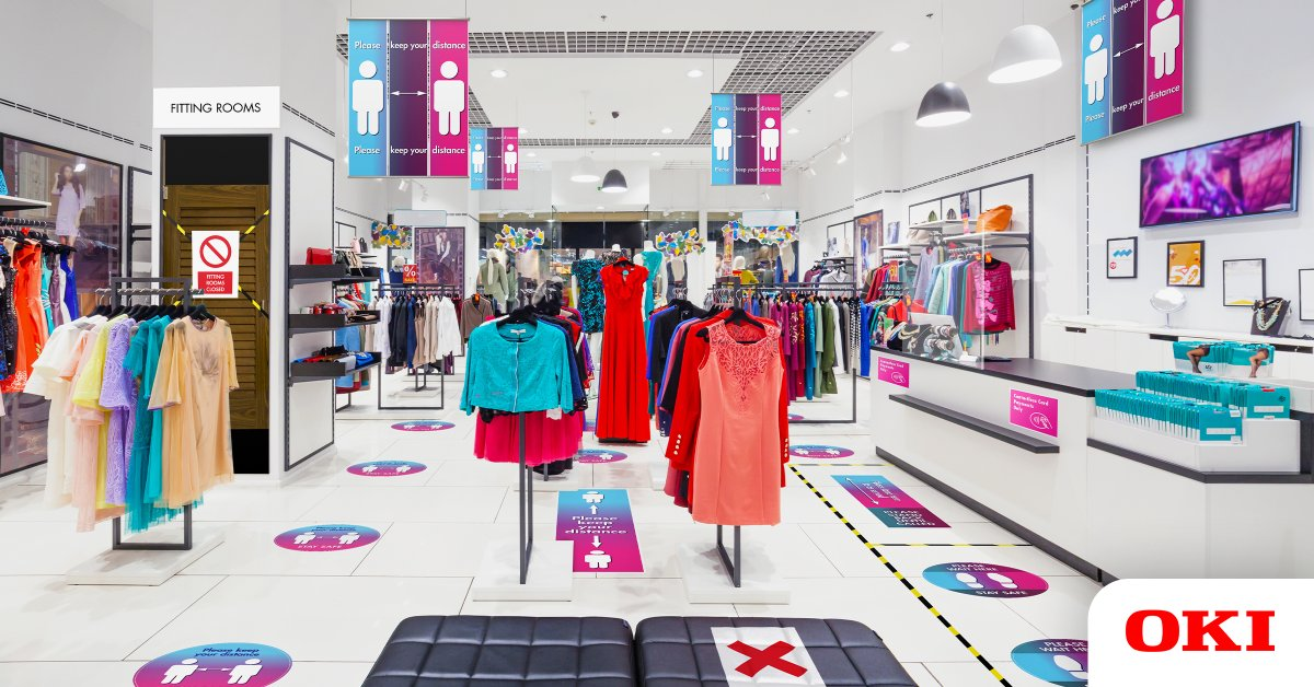 As non-essential retailers re-open their doors, in-store signage can play a critical role in helping to rebuild customer confidence and create a safe environment. Download the whitepaper to find out more: https://t.co/mwWO0NVveQ https://t.co/e3ERfwtLCL