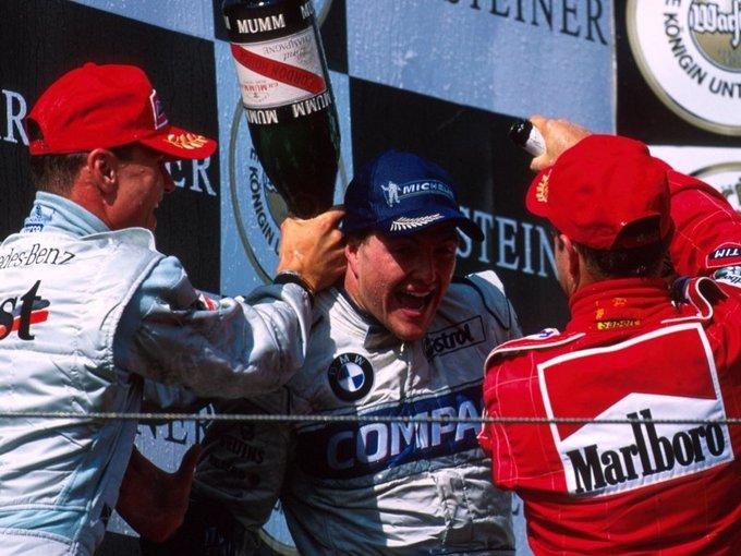 Happy 45th birthday to six-time grand prix winner Ralf Schumacher!