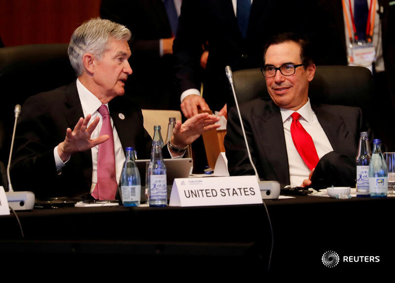 Powell and Mnuchin enter the lion's den again to discuss pandemic response https://t.co/z2Uin5hoO3 https://t.co/eWIkhKYpQg