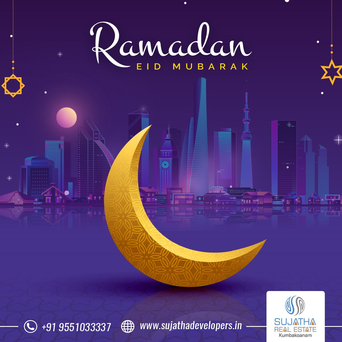 Wishing a very happy Ramadan. Let it inspire you all with courage and strength that will help you all to win every challenge of life!  #Ramdanwishes #ramdan2020 #sujathadevelopers #plotspromoters  #property #investment #realestateinvestor #realestateagent #dreamhome #kumbakonam https://t.co/JSepS8nYq4