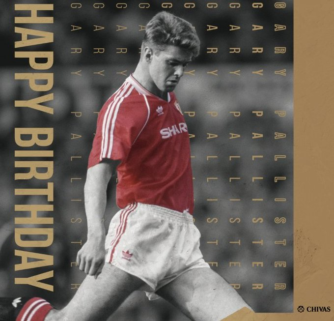 Happy Birthday to former United Player Gary Pallister!