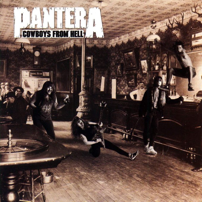 Cowboys From Hell from Cowboys From Hell by Pantera  Happy Birthday, Phil Anselmo
