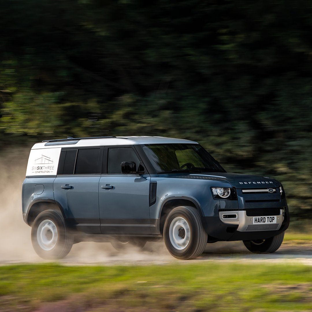 The New #LandRover #DEFENDER means business. Introducing Land Rover's most durable and capable commercial vehicle ever, the new Defender Hard Top Body available in both 90 and 110 versions. Learn more: https://t.co/xN71VR2Q1s #TeamDefender #NewDefender #DefenderHardTop https://t.co/Pp4ovgZg01