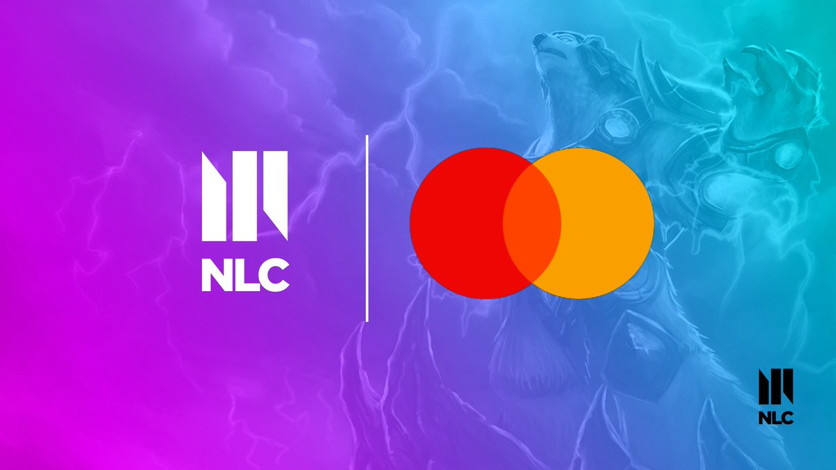 Were thrilled to welcome @MastercardEU to the #NLC family! 🥳 Make sure to tune in to catch the Priceless Play of the Match segments throughout the season! 📺 twitch.tv/nlclol
